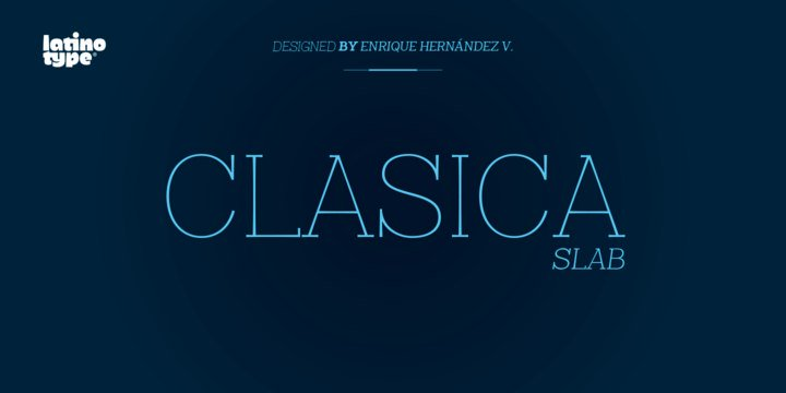 Font Clasica Slab