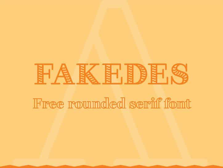 Шрифт Fakedes Outline
