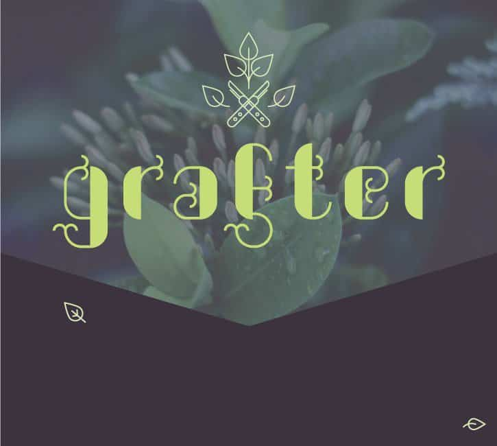 Шрифт Grafter