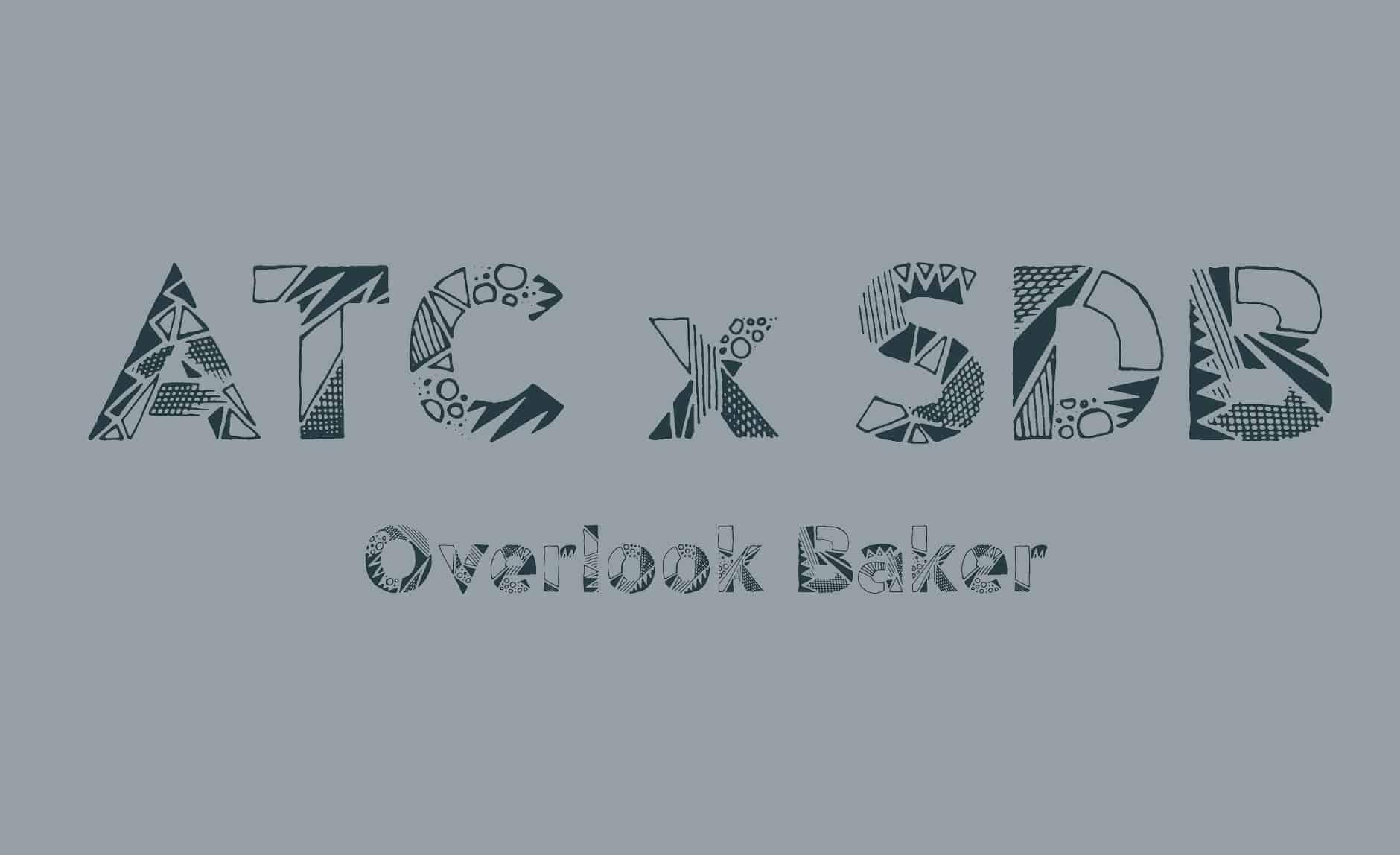 Font ATC Overlook Baker