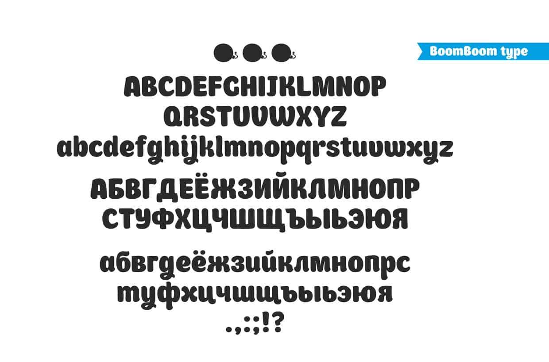Font Boomboom