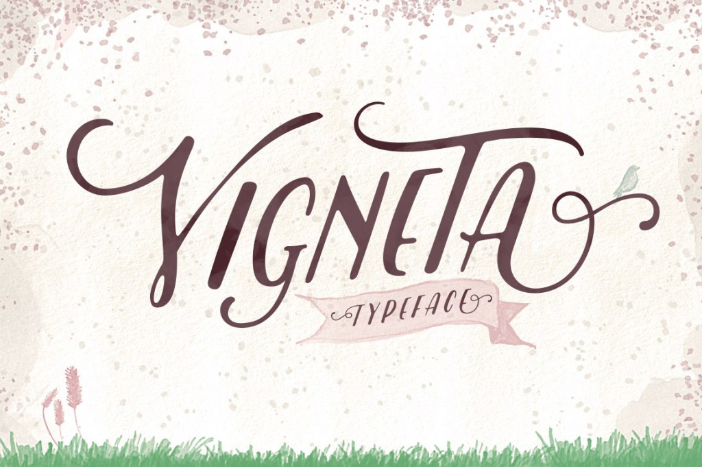 Font Vigneta Typeface