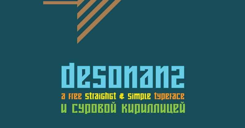 Font Desonanz