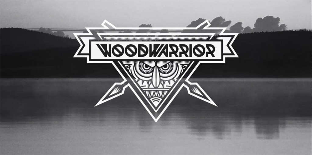 Шрифт Woodwarrior typeface
