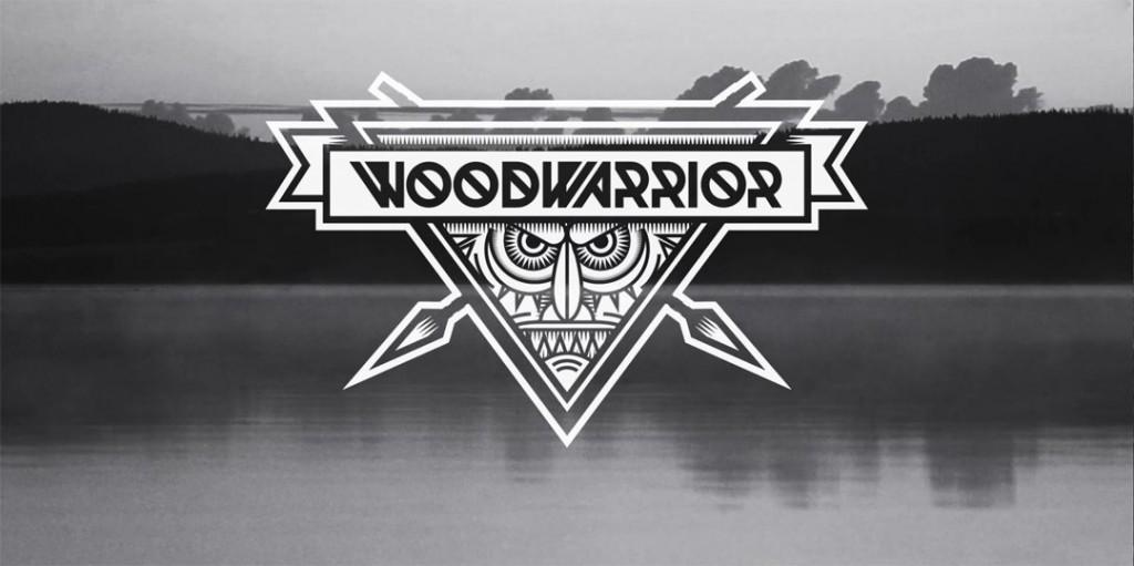 Font Woodwarrior typeface