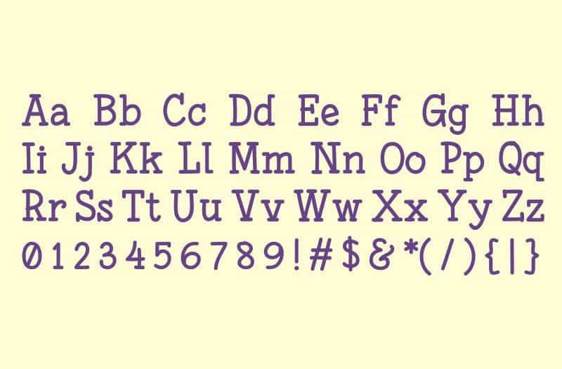 Font Fonesia