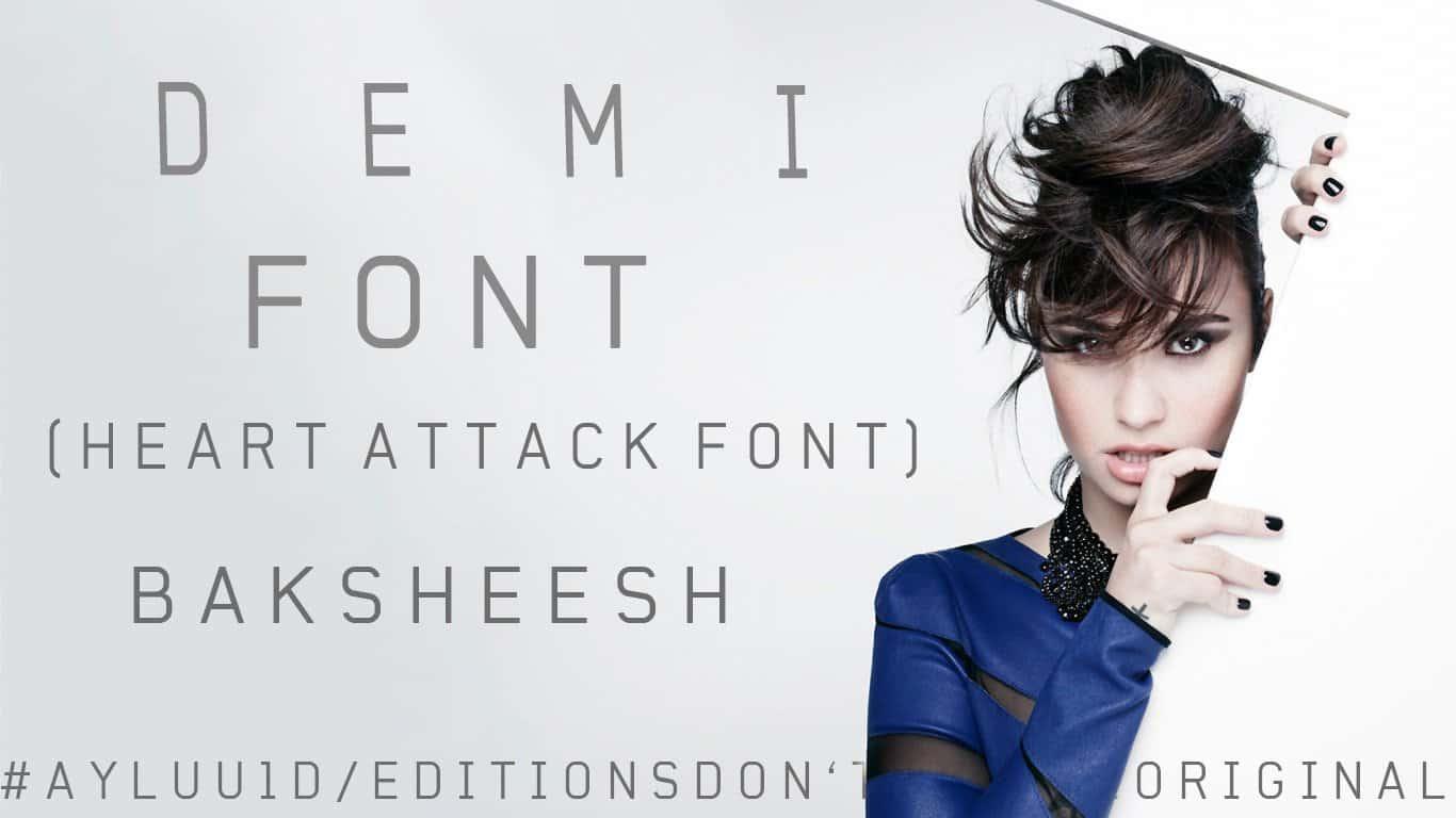 Download demi font (typeface)