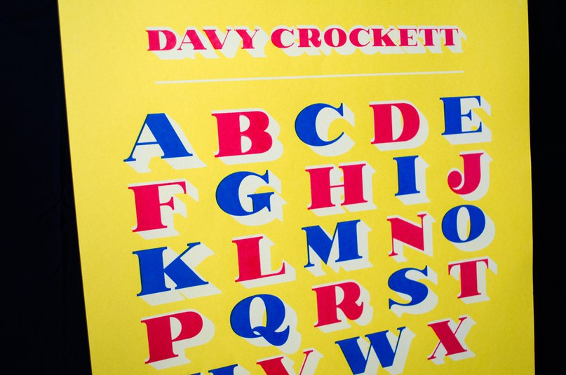 Download DavyCrockett-Regular font (typeface)