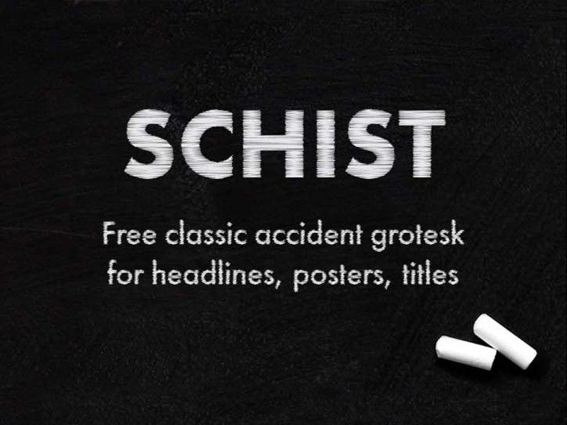 Schist_font