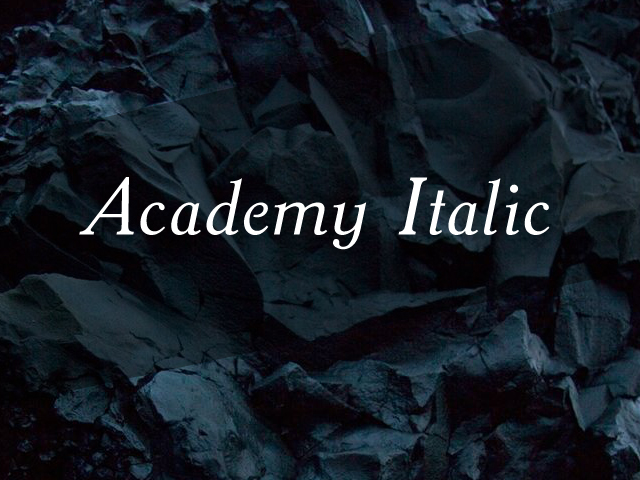 ACADEMY_ITALIC