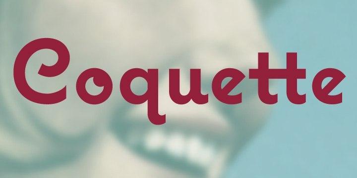 Font Coquette