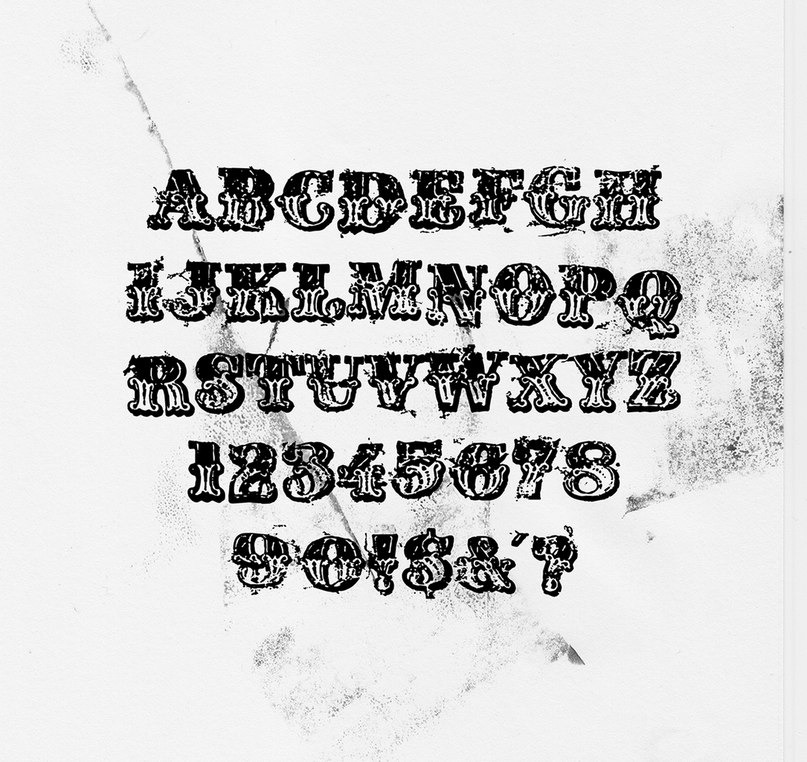 Download Crushedtalc font (typeface)