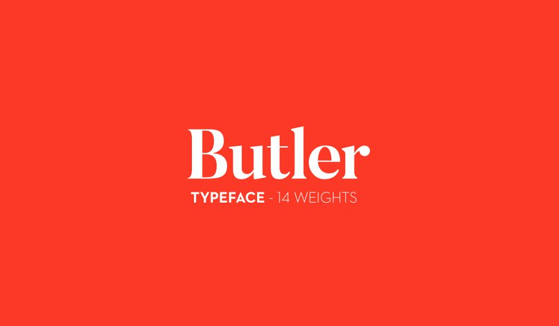 Download Butler Regular and Stencil font (typeface)