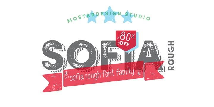 Font Sofia Rough