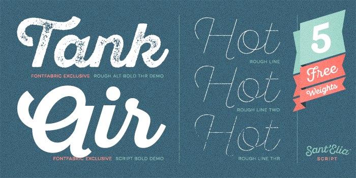 Download Santelia font (typeface)