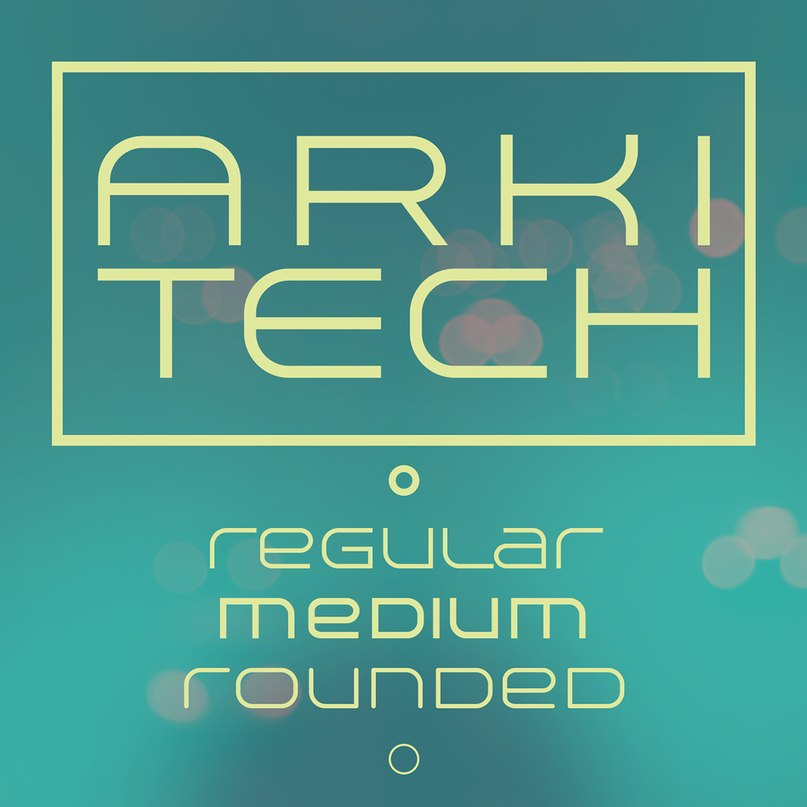 Download arkitech font (typeface)