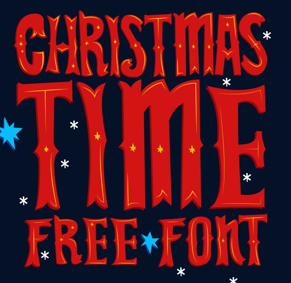 Download Font Christmas Time Display (Christmas Font ) font (typeface)