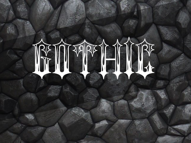 Download Gothic font (typeface)