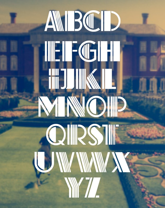 Download The Gatsby font (typeface)