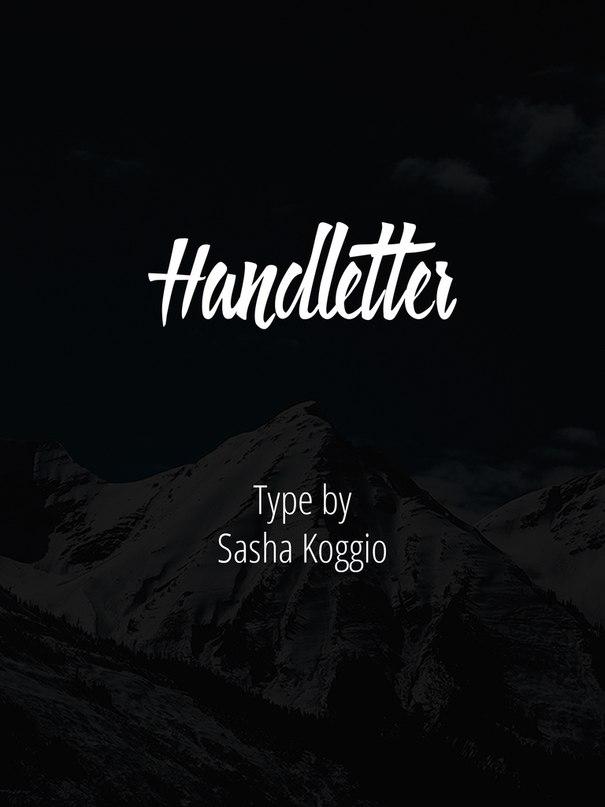 Download Handletter font (typeface)