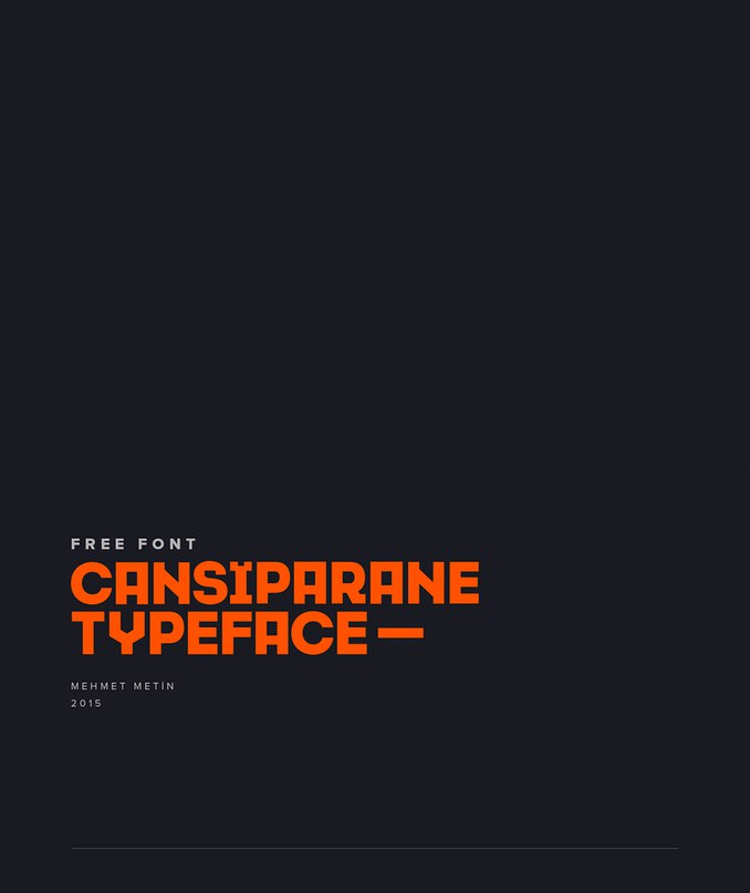 Download Cansiparane font (typeface)