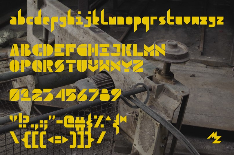 Download Container font (typeface)