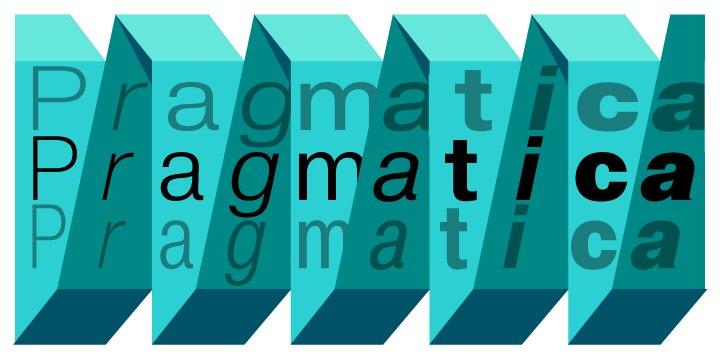 Font Pragmatica