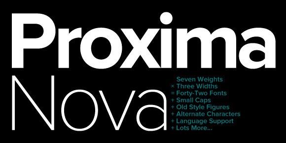 Proxima Nova font free download Ⓐ AllBestFonts com