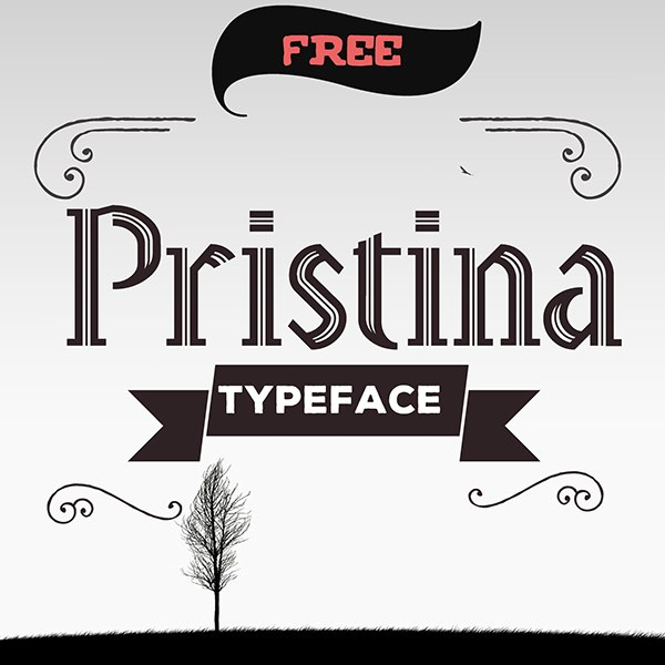 Download Pristina font (typeface)