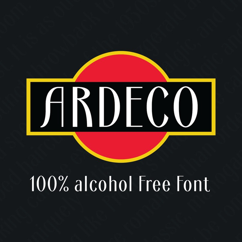 Download Ardeco font (typeface)