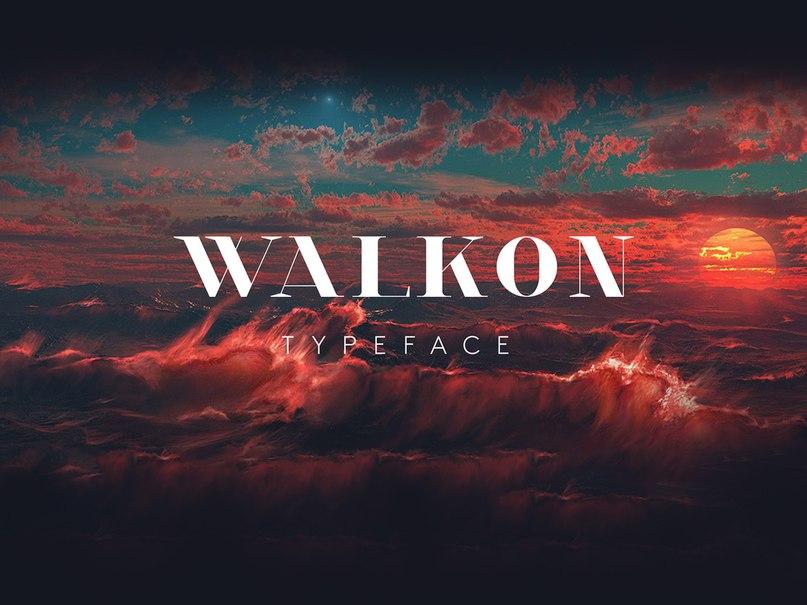 Download WalkOn typeface font (typeface)