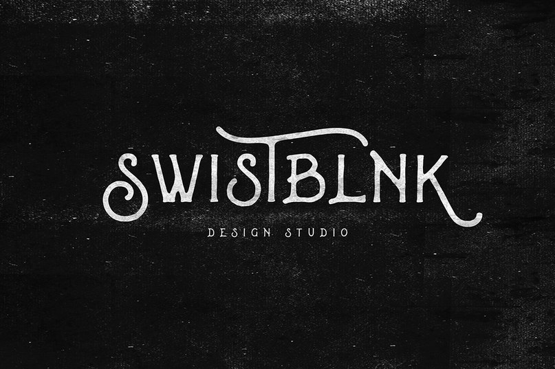 Download Swistblnk Banthers font (typeface)