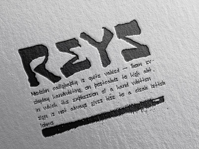 Download Reys-Regular font (typeface)