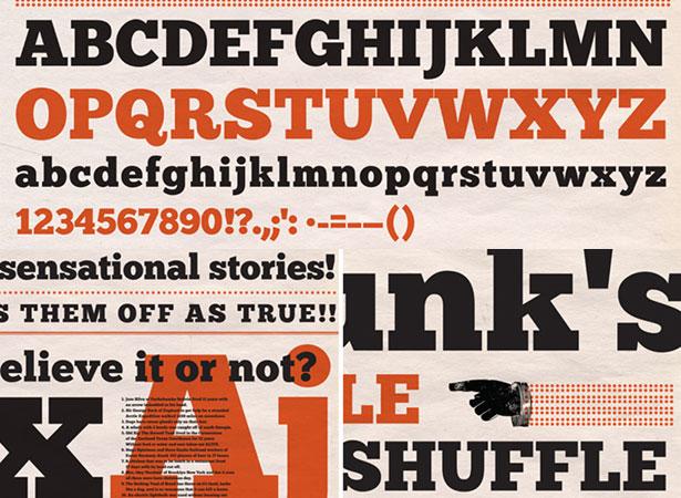 Font Chunk Five