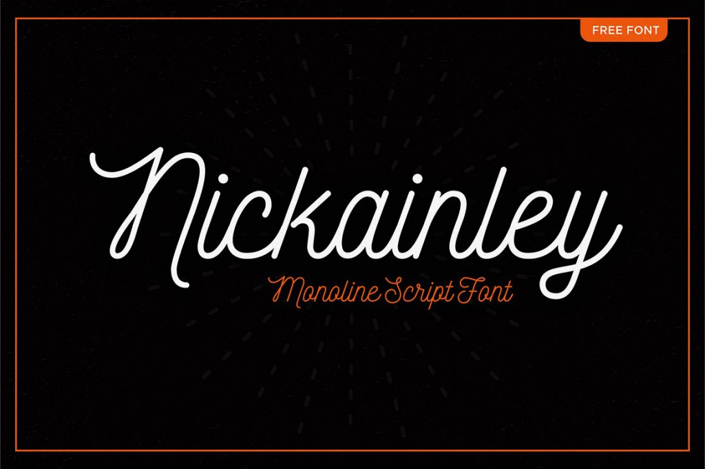 Font Nickainley
