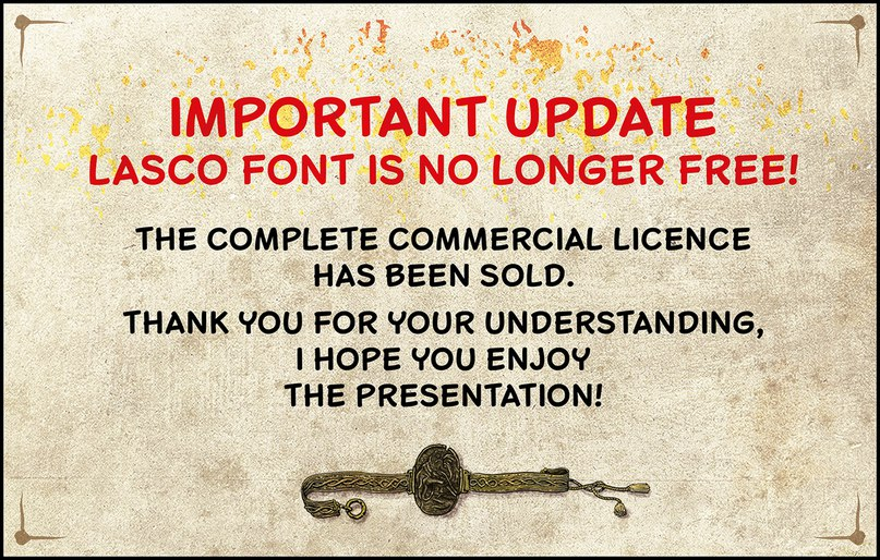 Download Lasco font (typeface)
