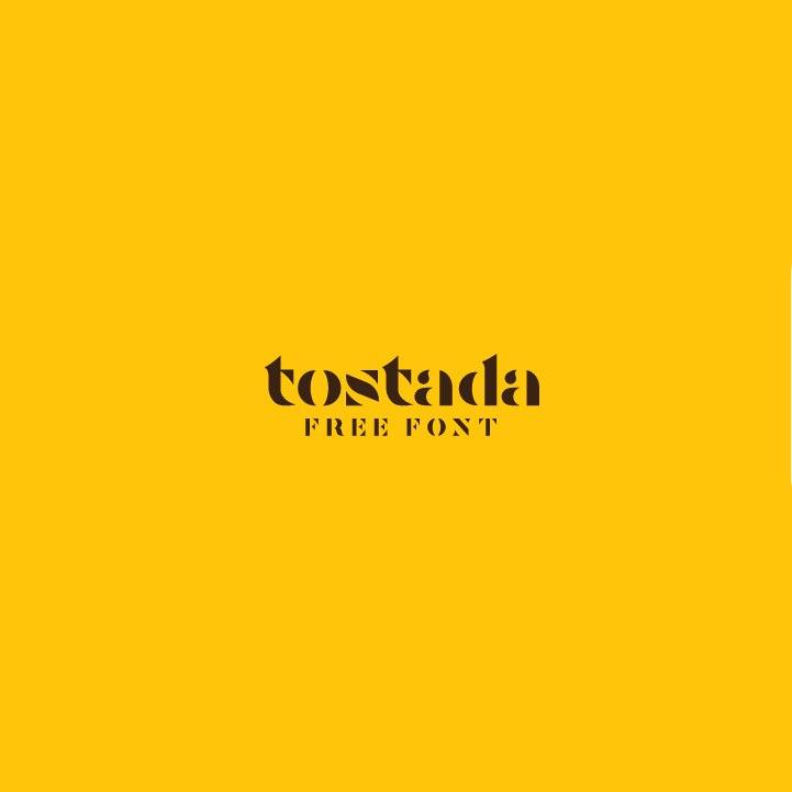 Download TOSTADA font (typeface)