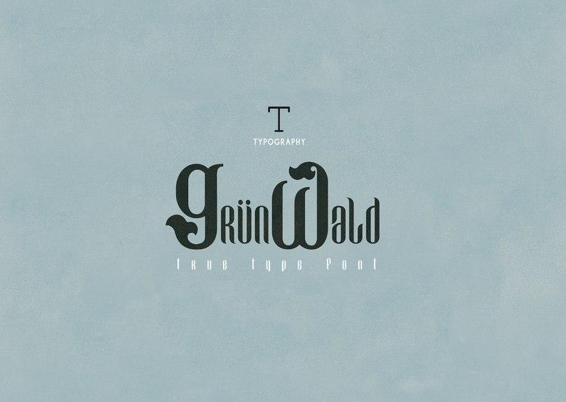 Download Grunwald font (typeface)