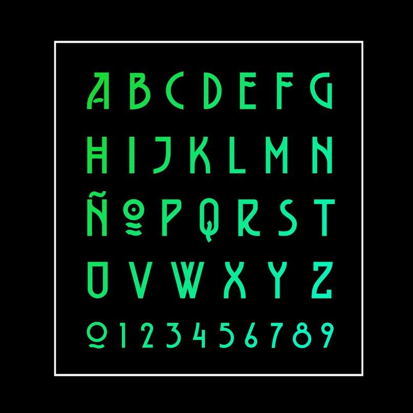 Download BELLADONA font (typeface)