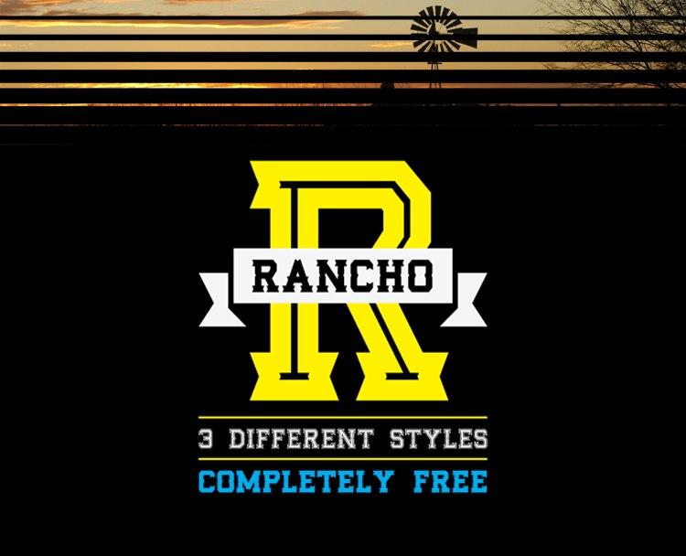 RANCHO-FONT