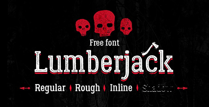 Download Lumberjack font (typeface)