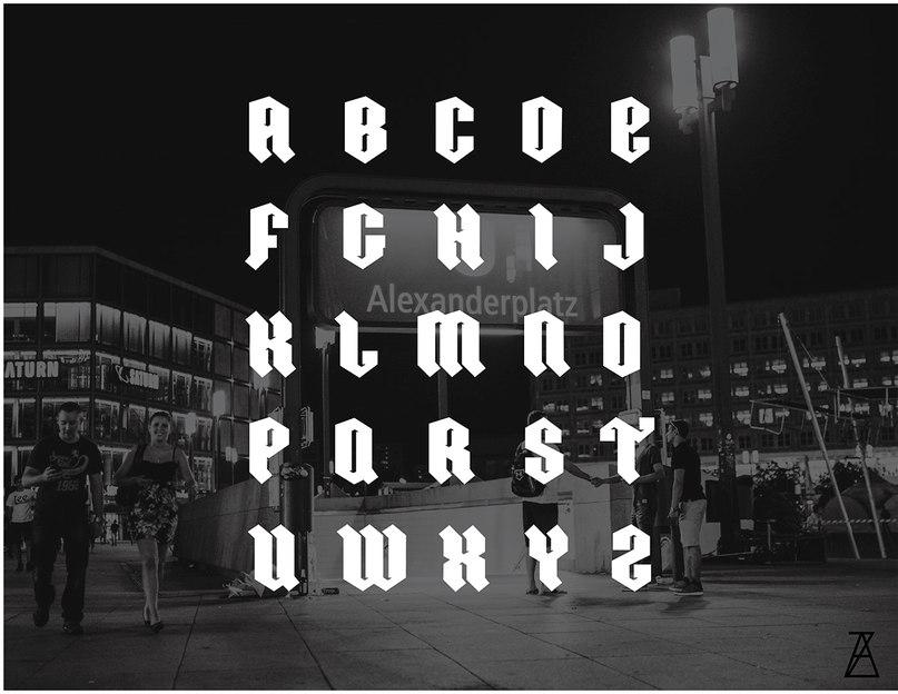 Download ordnung font (typeface)