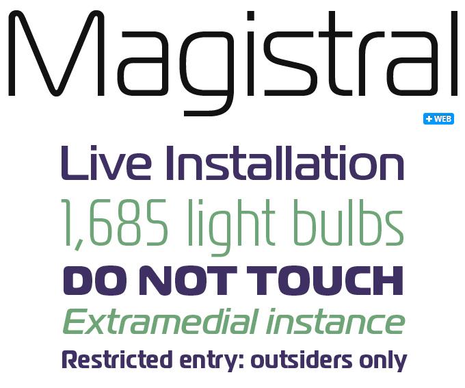 Download magistral font (typeface)
