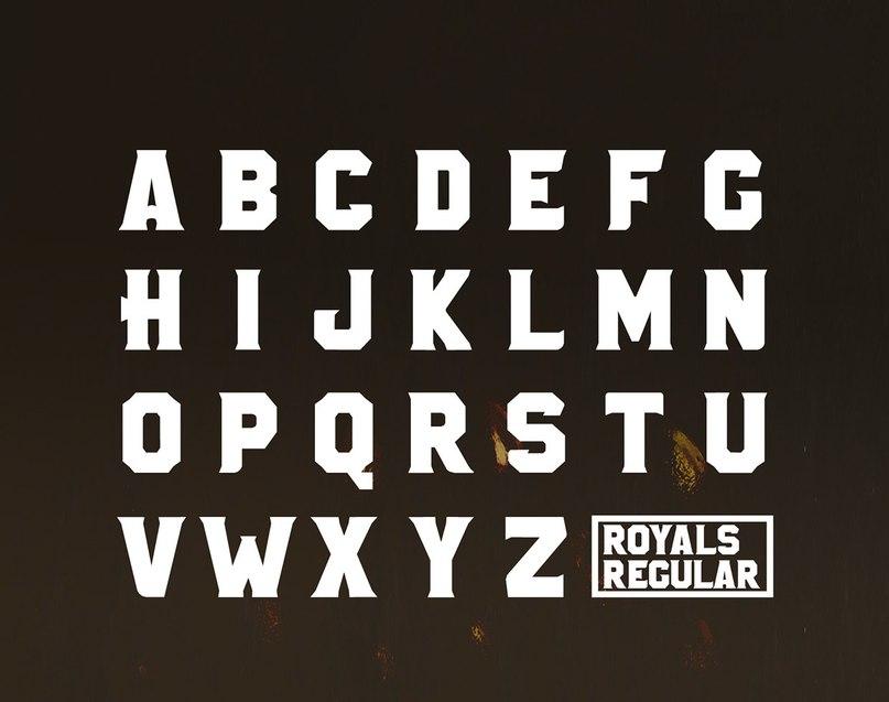 Download ROYALS font (typeface)