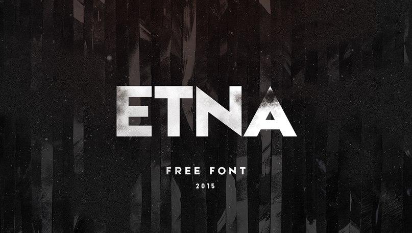 Download Etna font (typeface)
