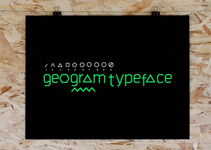 Download GEOGRAM font (typeface)