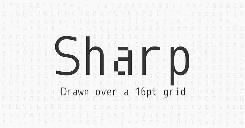 Download Monoid font (typeface)