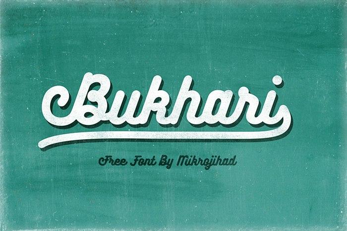 Download bukhari font (typeface)