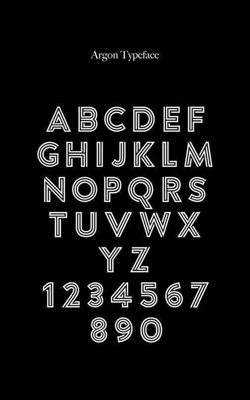 Download Argon PERSONAL font (typeface)