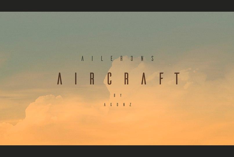 Download ailerons font (typeface)